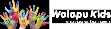Waiapu Kids Te Hapara Whanau Aroha Logo